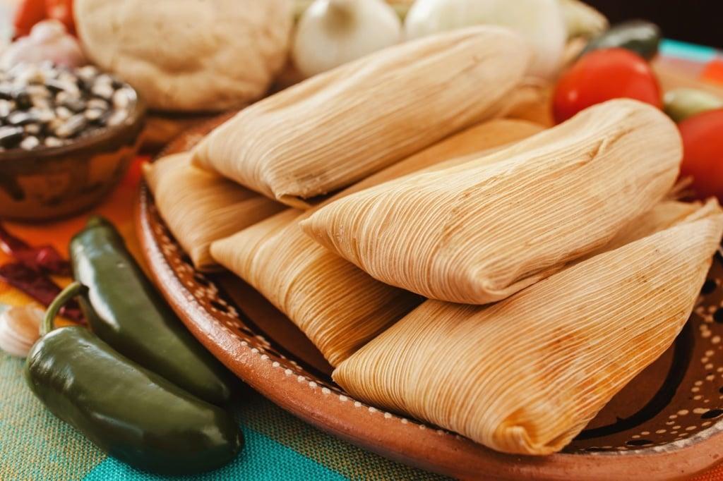 Tamales in Mexiko