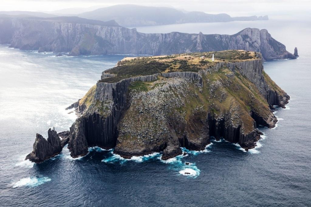 Tasman Island aus der Vogelperspektive
