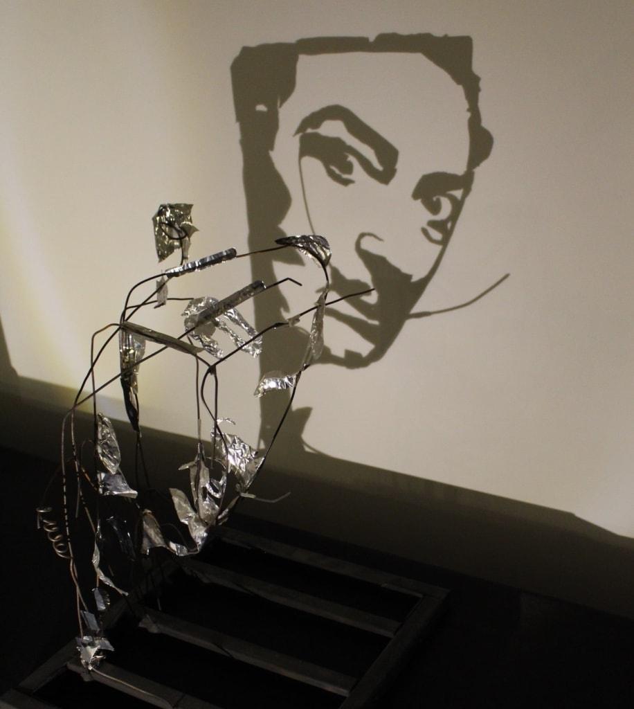 Im Schattenmuseum in Sankt Petersburg muss die Kunst nur im richtigen Licht erscheinen.
