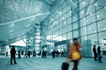 Flughafen, Reise
