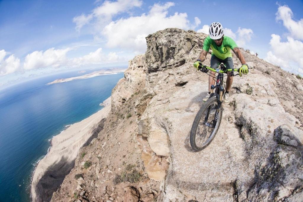 Mountainbike auf Lanzarote