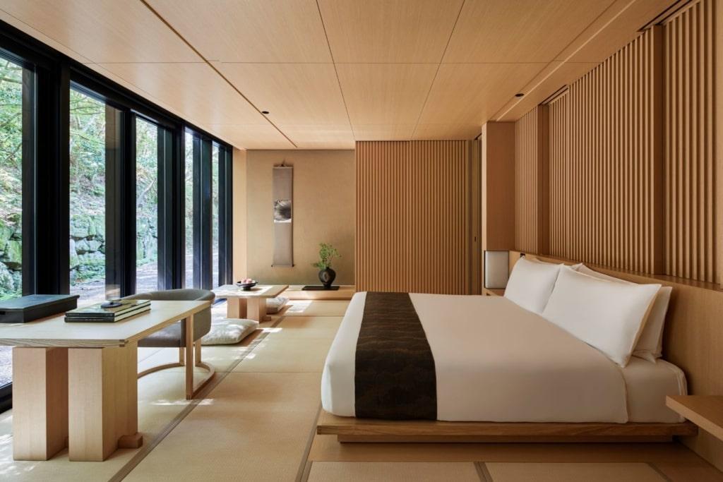 Zimmer im Aman Kyoto