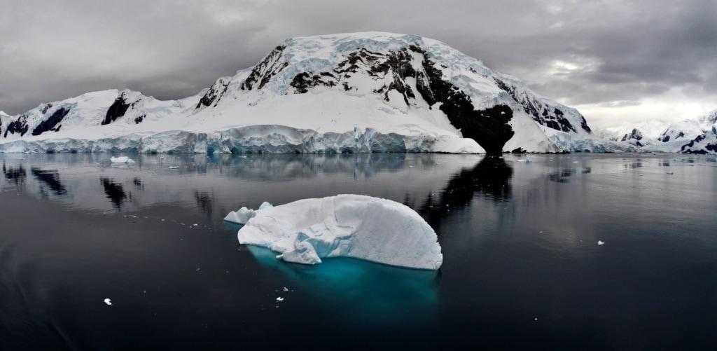 Landschaft, Panorama in der Antarktis