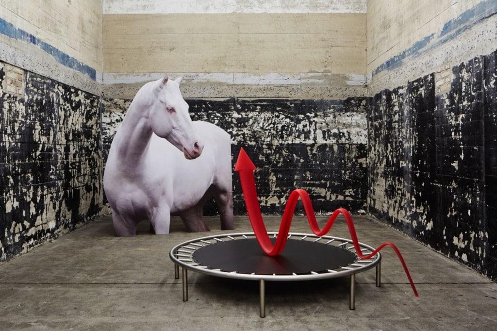 Ausstellungsstück im Berliner Boros