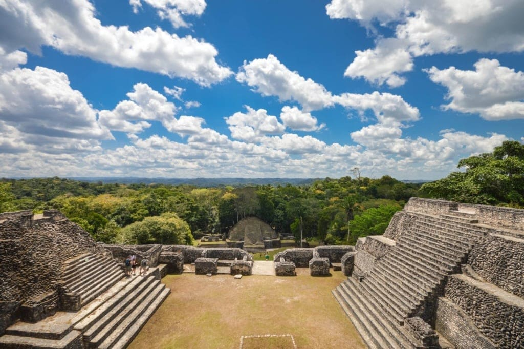 Caracol-Pyramide in Belize