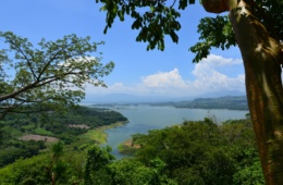 Stausee Suchito Rio Lempa in El Salvador