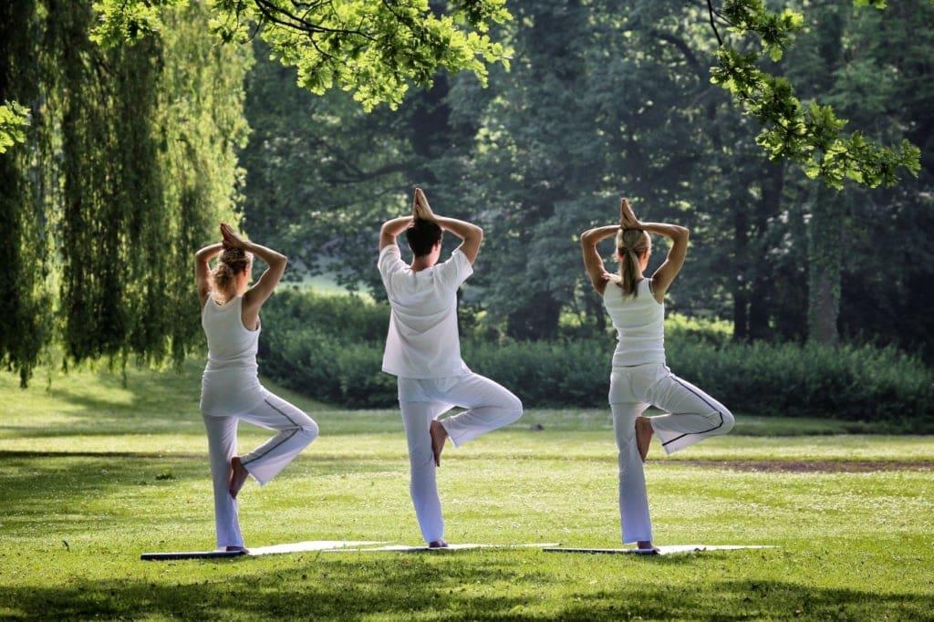 Yoga im Gräflicher Park Health & Balance Resort