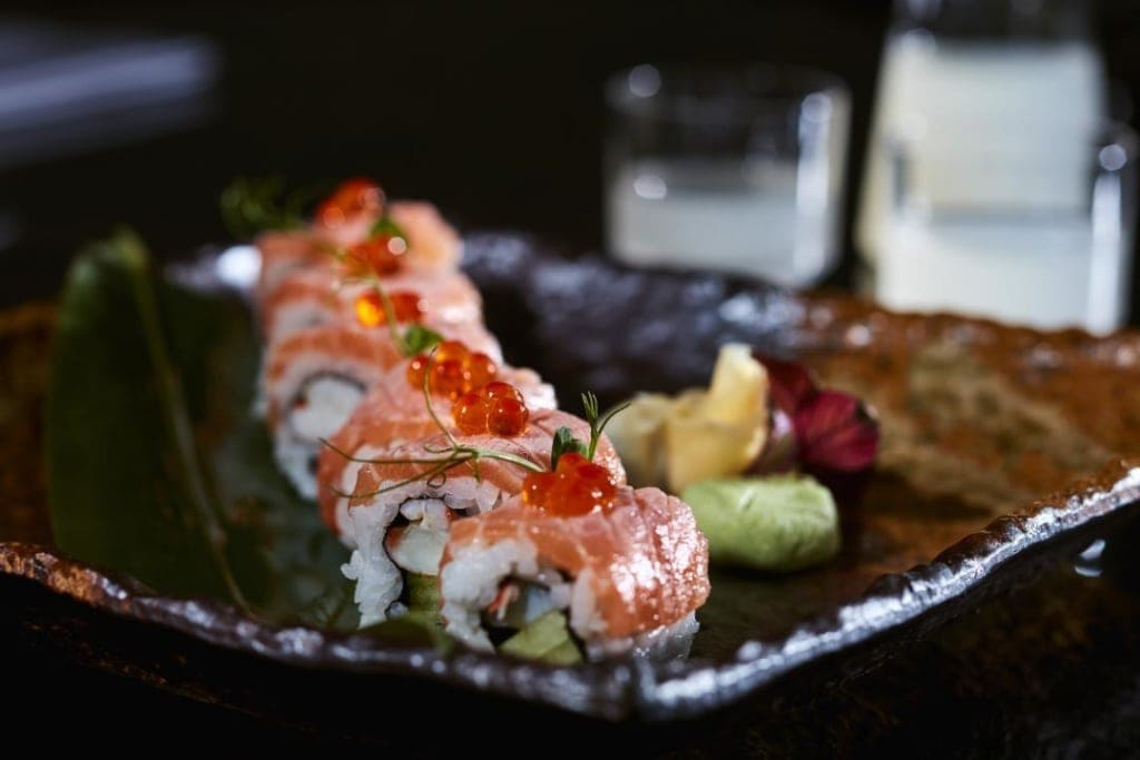 Essen im japanischen Restaurant des Vila Vita Parc