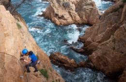 Klettersteig in Katalonien