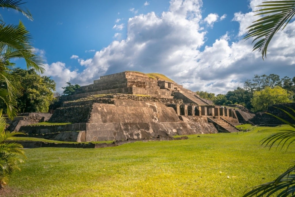 Maya-Stätte Tazumal in El Salvador