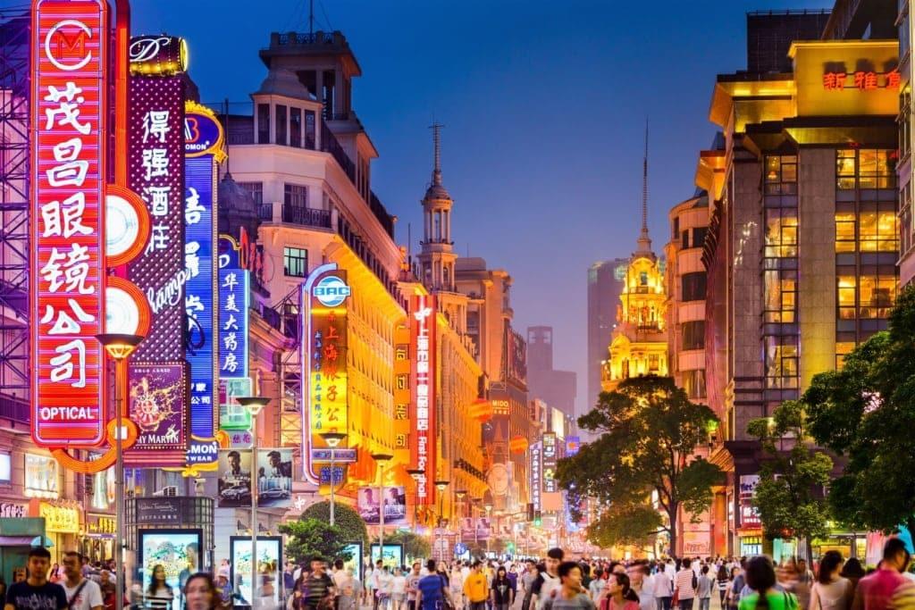 Nanjing Road in Shanghai