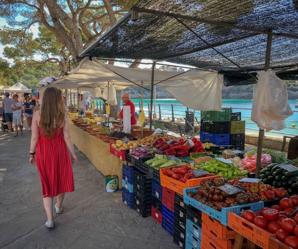 Mallorca-Tipps für Sparfüchse: Besuch eines Gemüsemarktes auf Mallorca