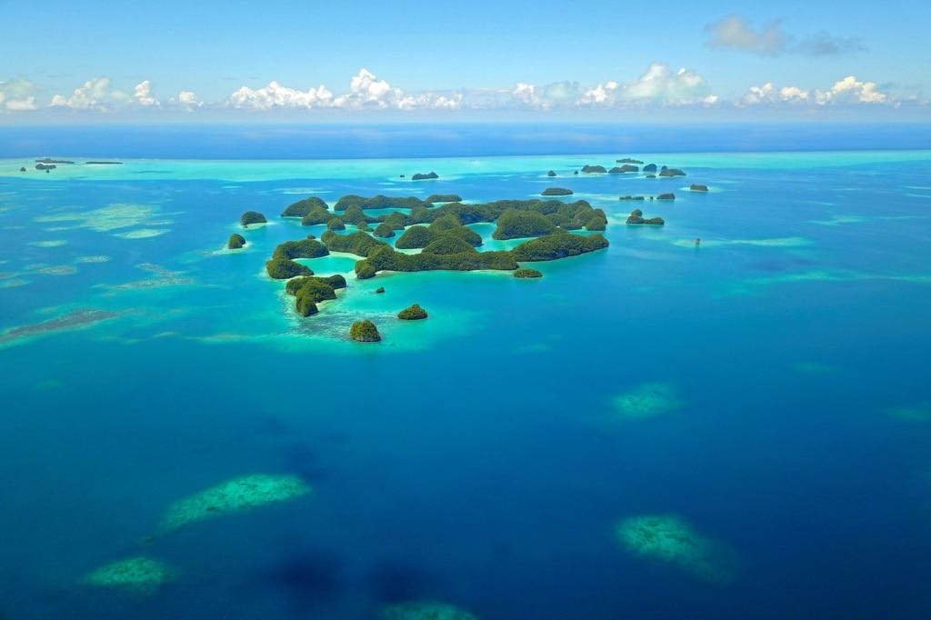Palau-Inseln im Pazifik