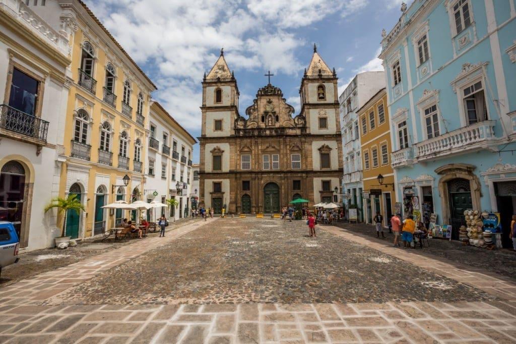 Altstadt Pelourinho in Salvador, Brasilien