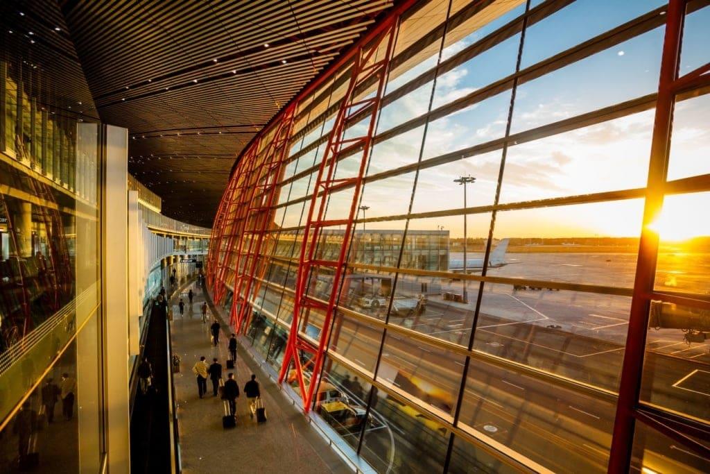 Shanghai Pudong Airport Terminal