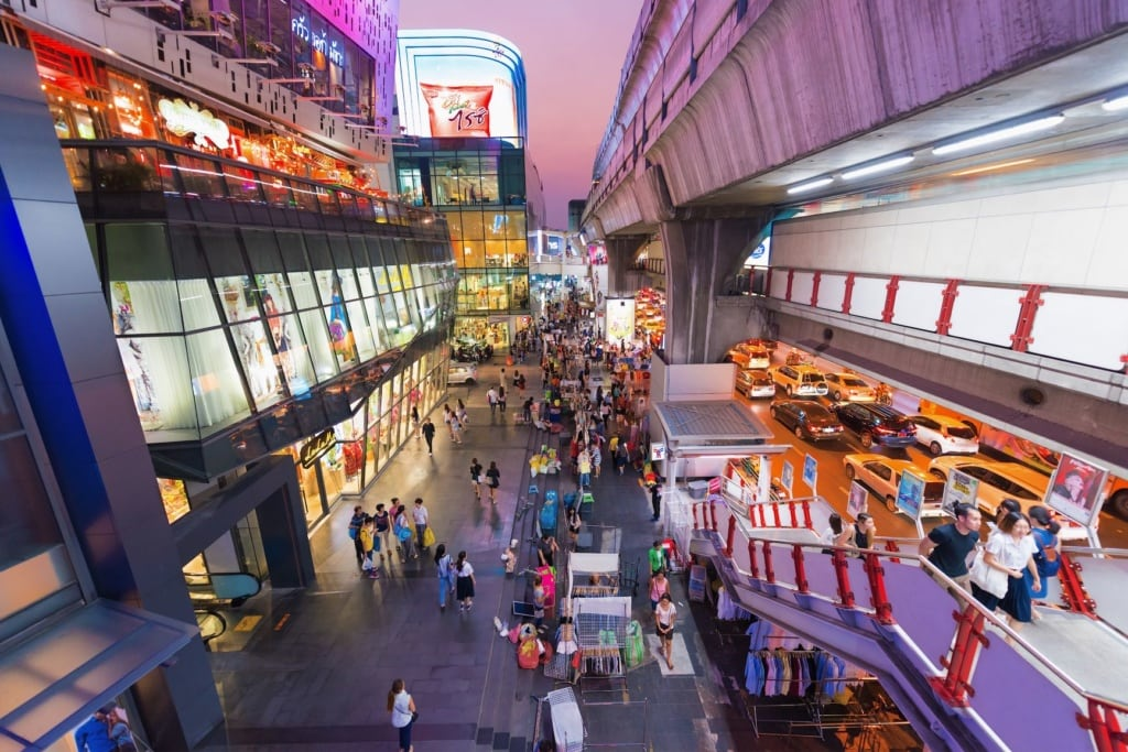 Siam Square in Bangkok