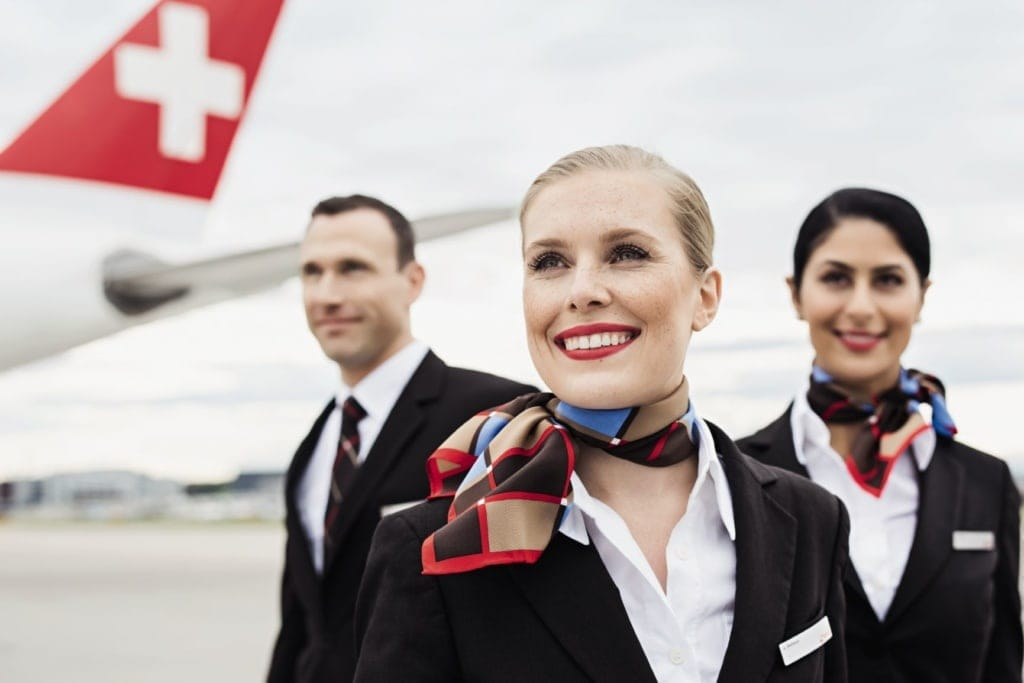 Swiss International Air Lines Crew