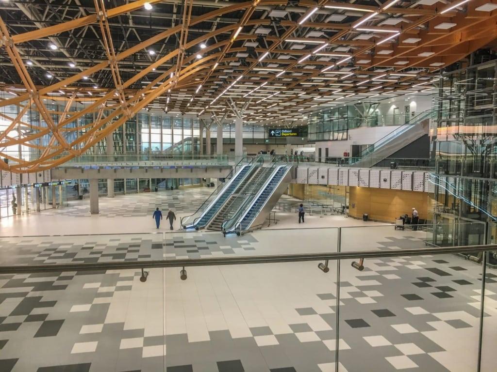 Terminal des Flughafen Split