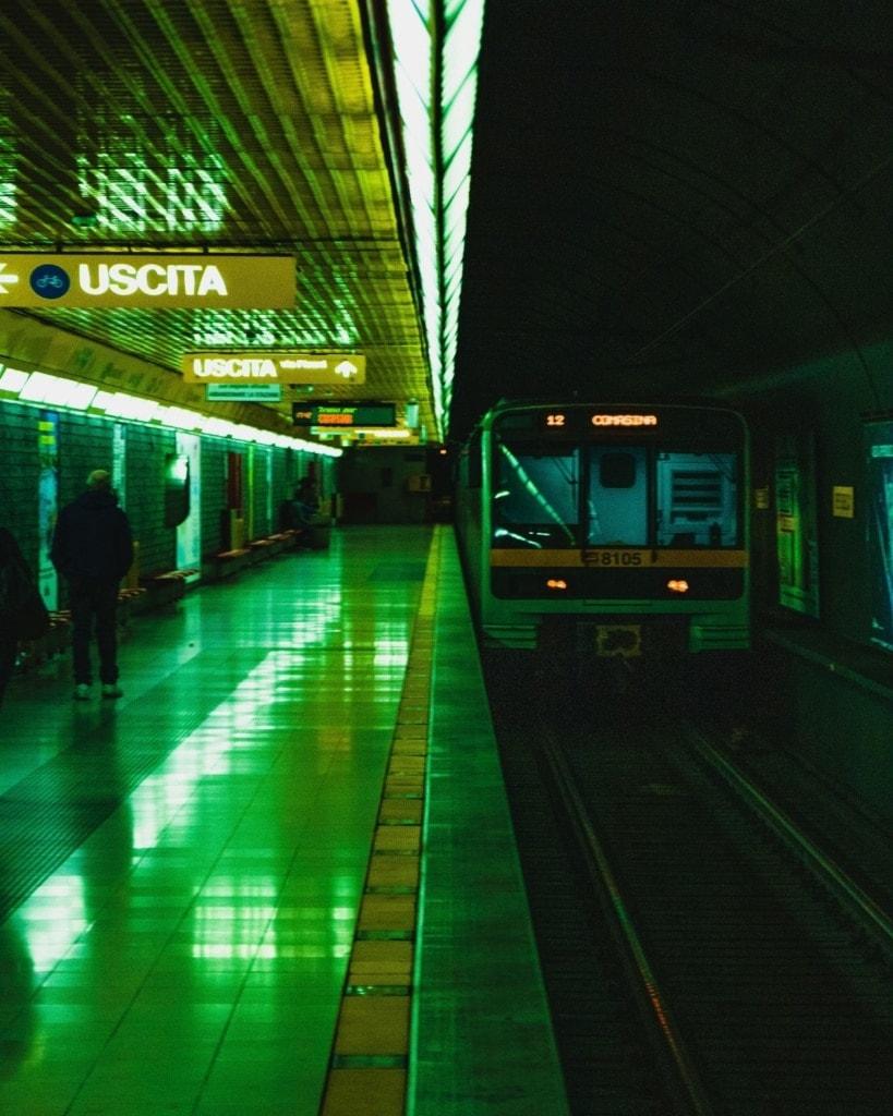 U-Bahn-Station in Mailand