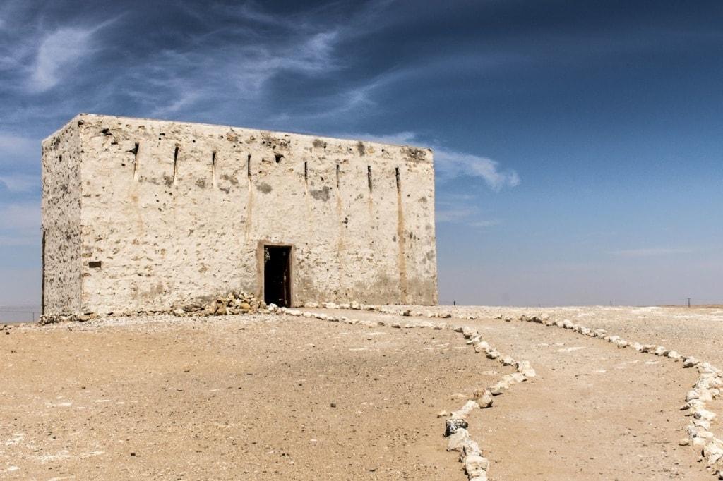 Altes Haus in Ubar, Oman