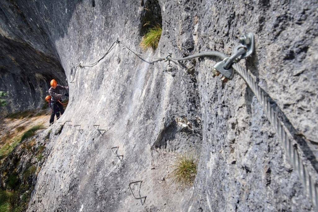 Klettersteiger, Via Ferrata