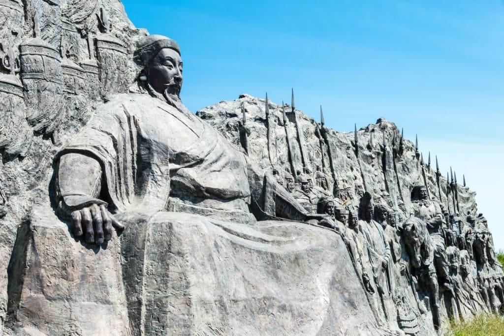 Kublai Kan in Xanadu, China