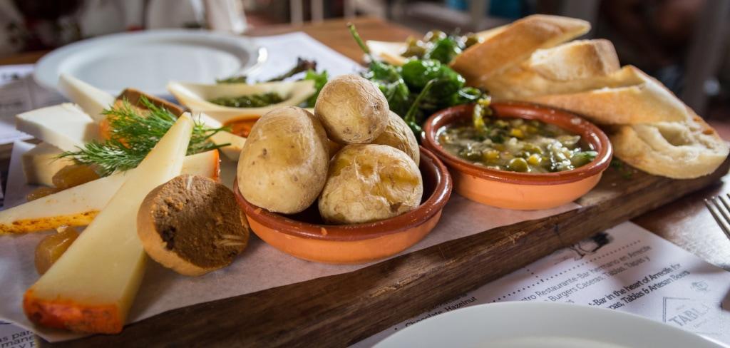 Landestypische Küche Lanzarote