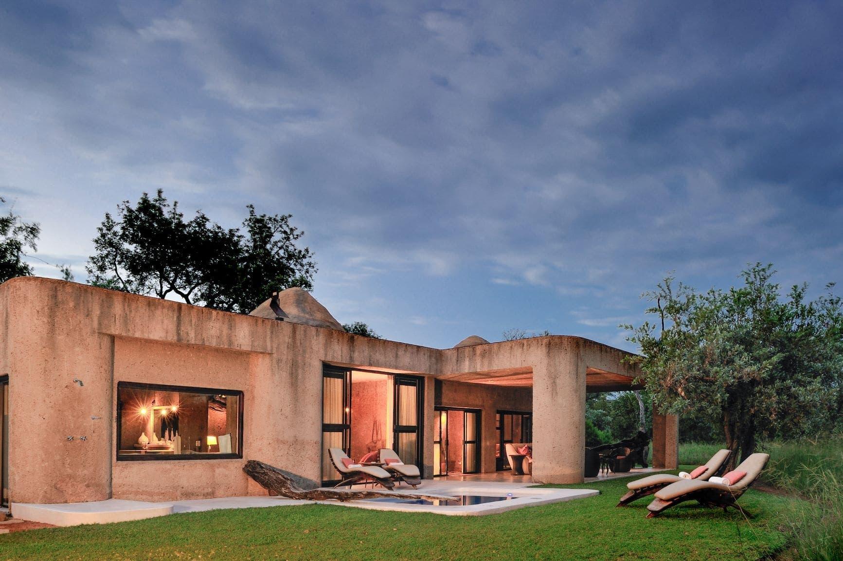 Amber Suite in der Sabi Sabi Earth Lodge