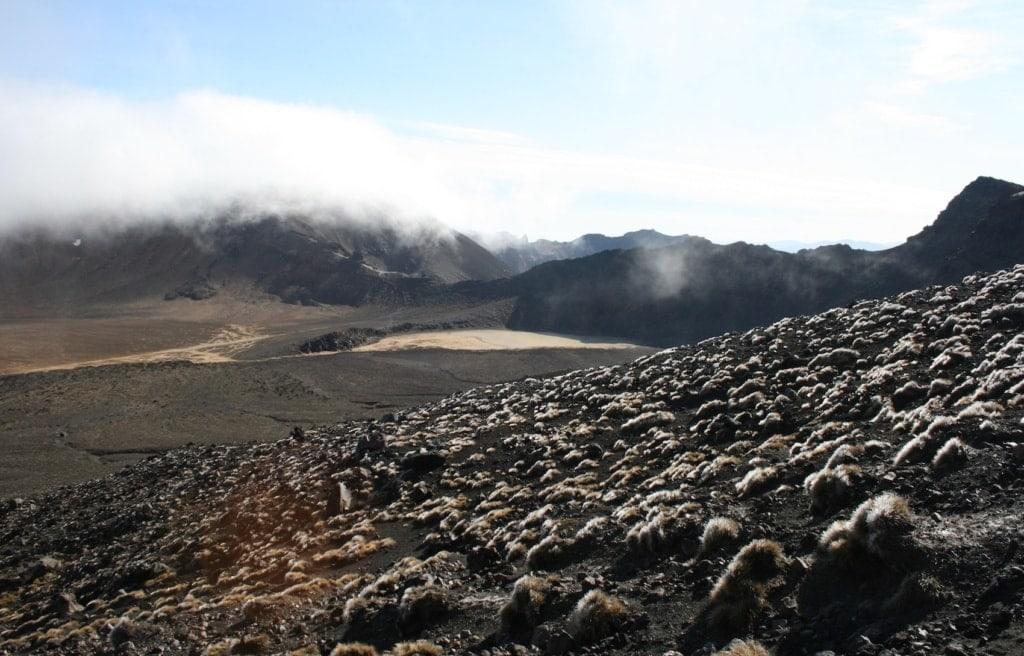 Mordor lässt grüßen, auf dem Tongariro Alpine Crossing spielen viele Szenen der Kultfilme.