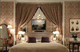 In der Romanov Suite im Grand Hotel Europe gleicht einem Museum.