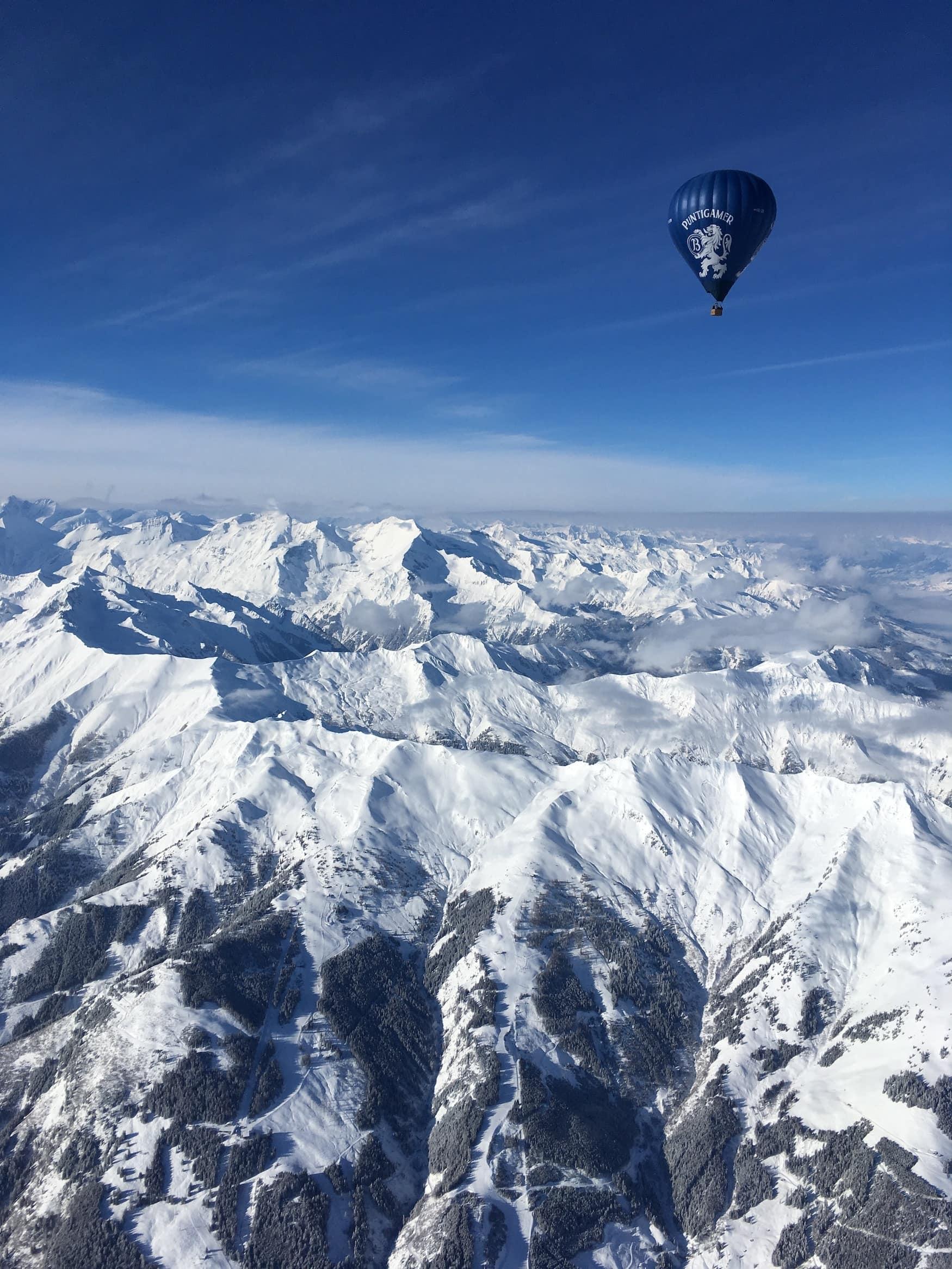 Winterwunderland Zell am See-Kaprun - Ballon fahren
