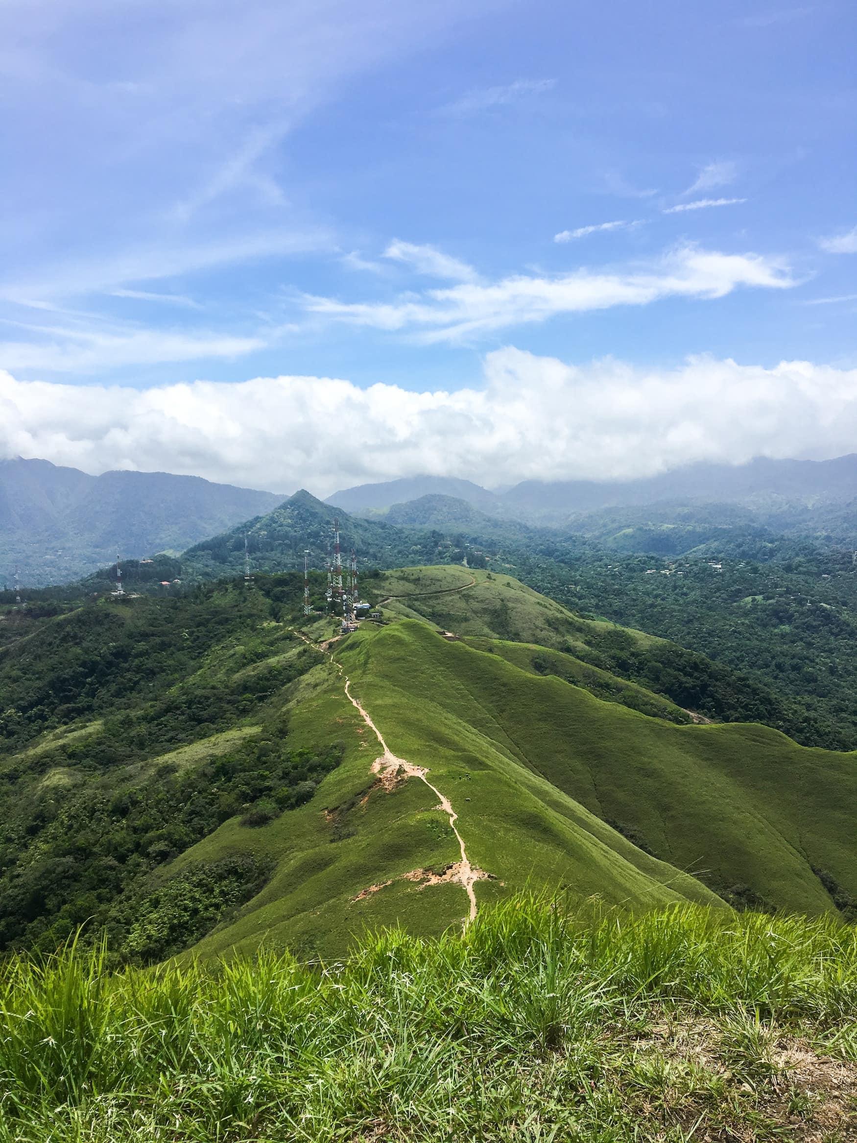 Cerro la Silla in El Valle de Anton, Panama