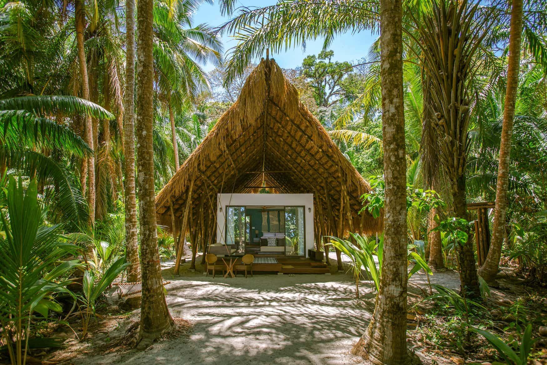 Sztandcasita auf Isla Palenque in Panama