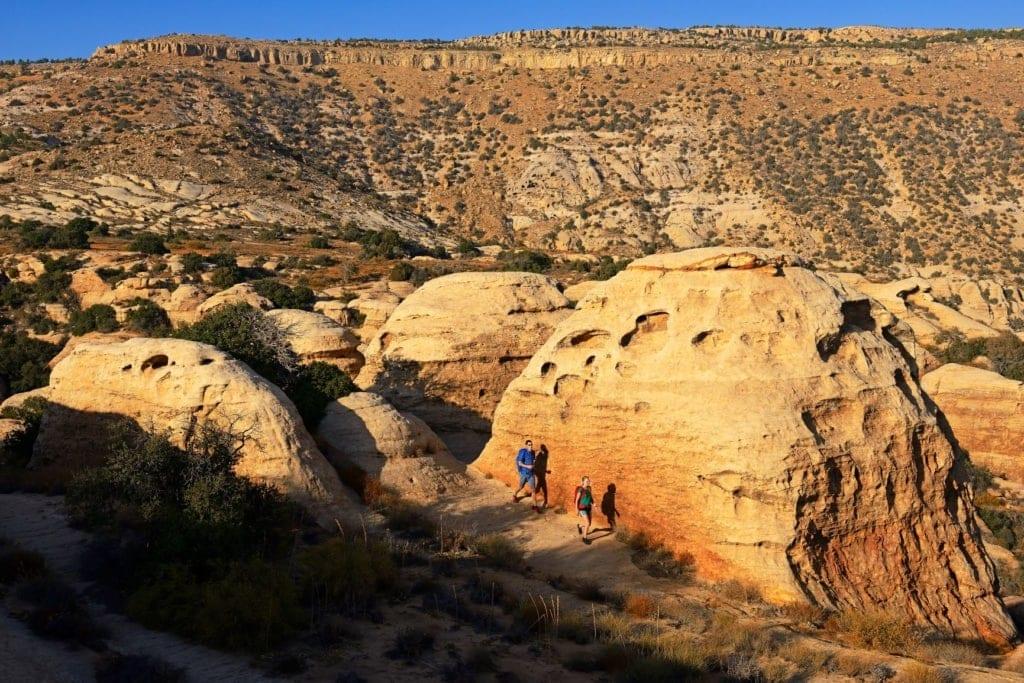 Touristen in Jordanien