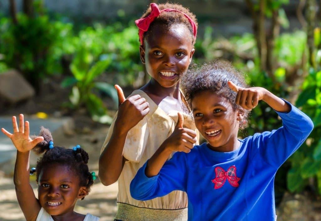 Kinder in der Dominikanischen Republik