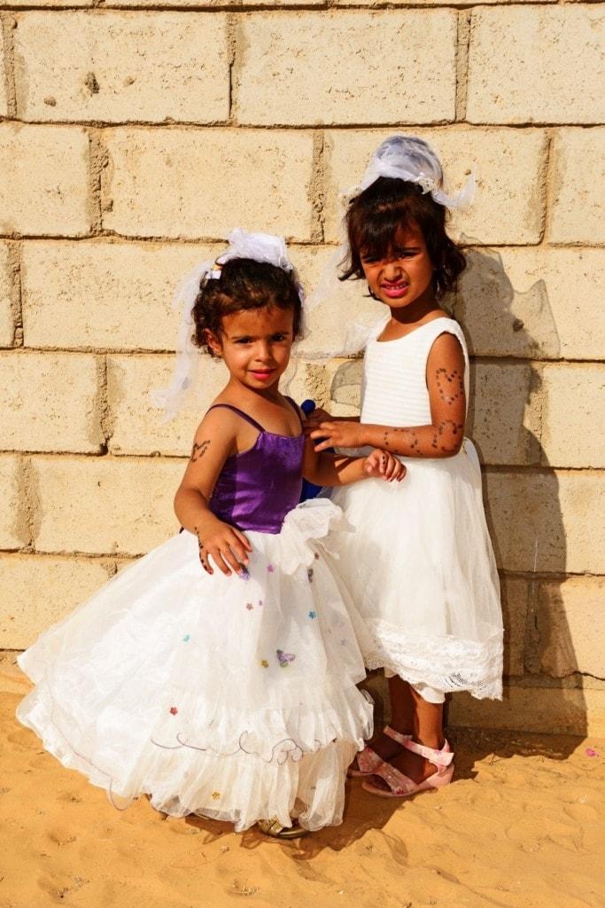 Kleine Mädchen in Jordanien