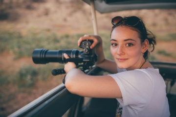 Maria Ehrich in Kenia