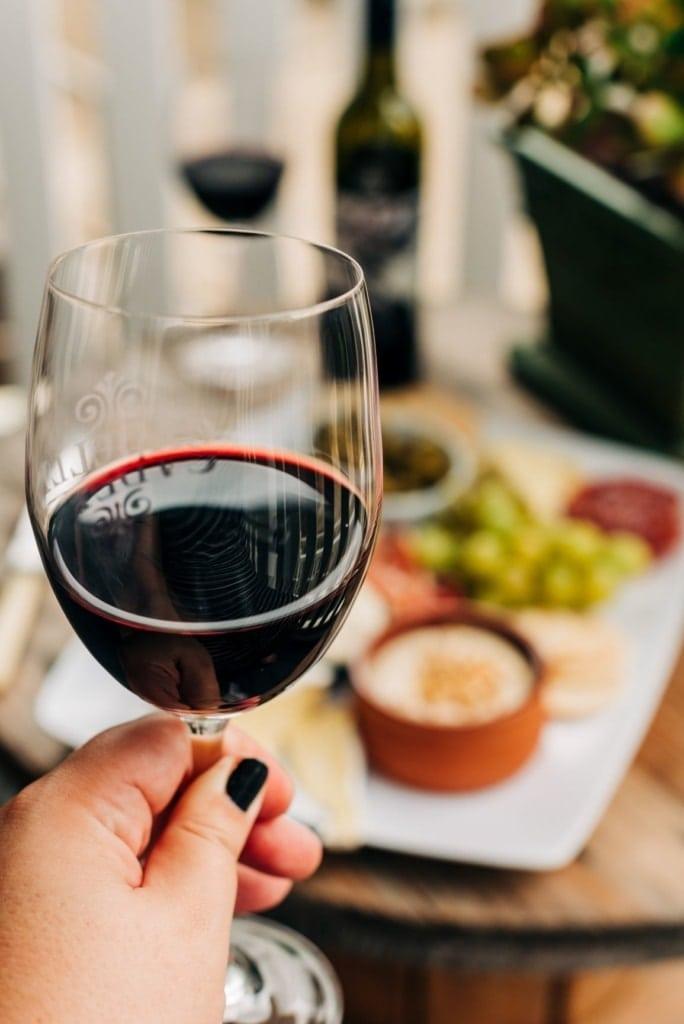 Rotwein,Glas