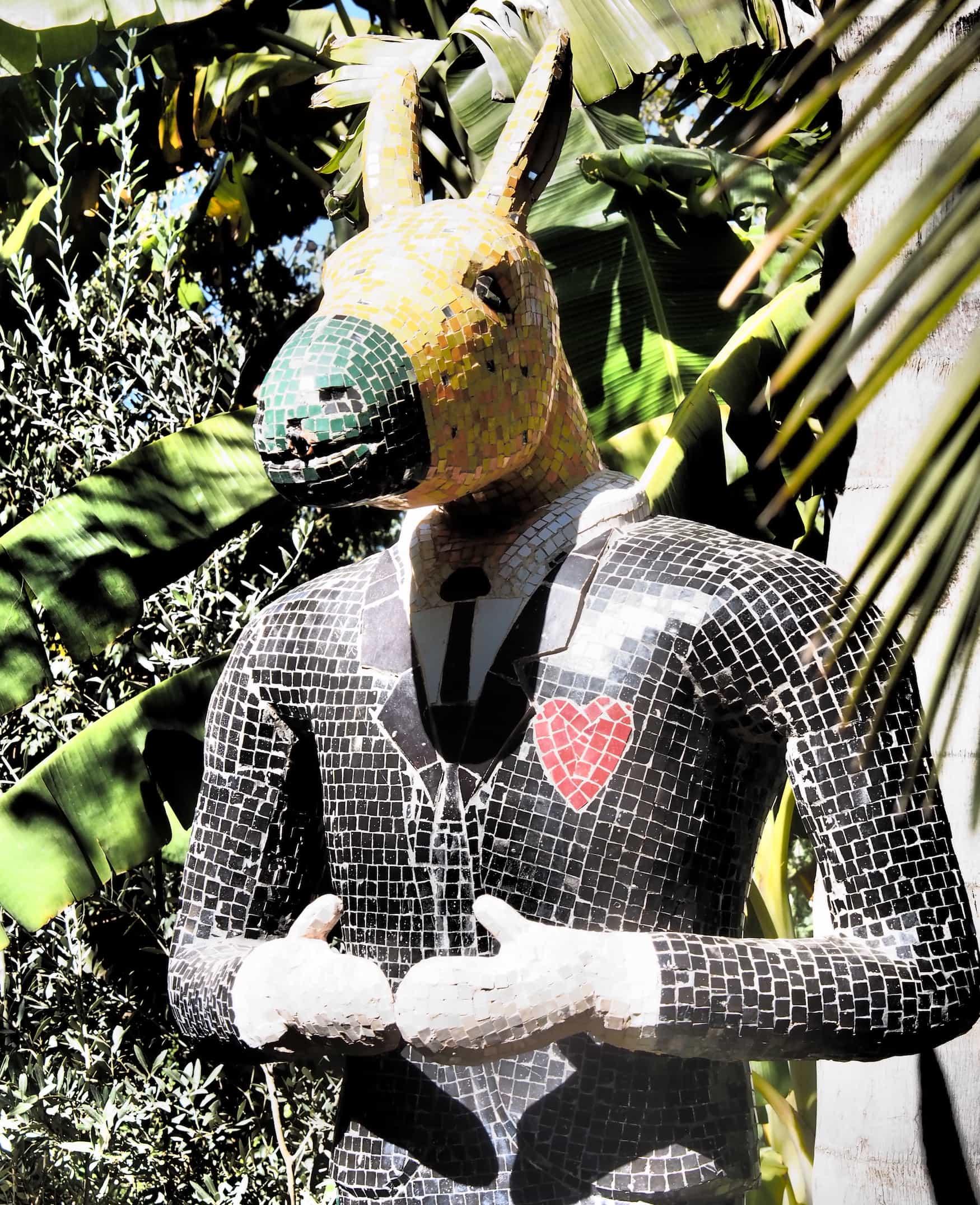 Esel in Andre Hellers Garten Anima - Marrakesch - Kreative