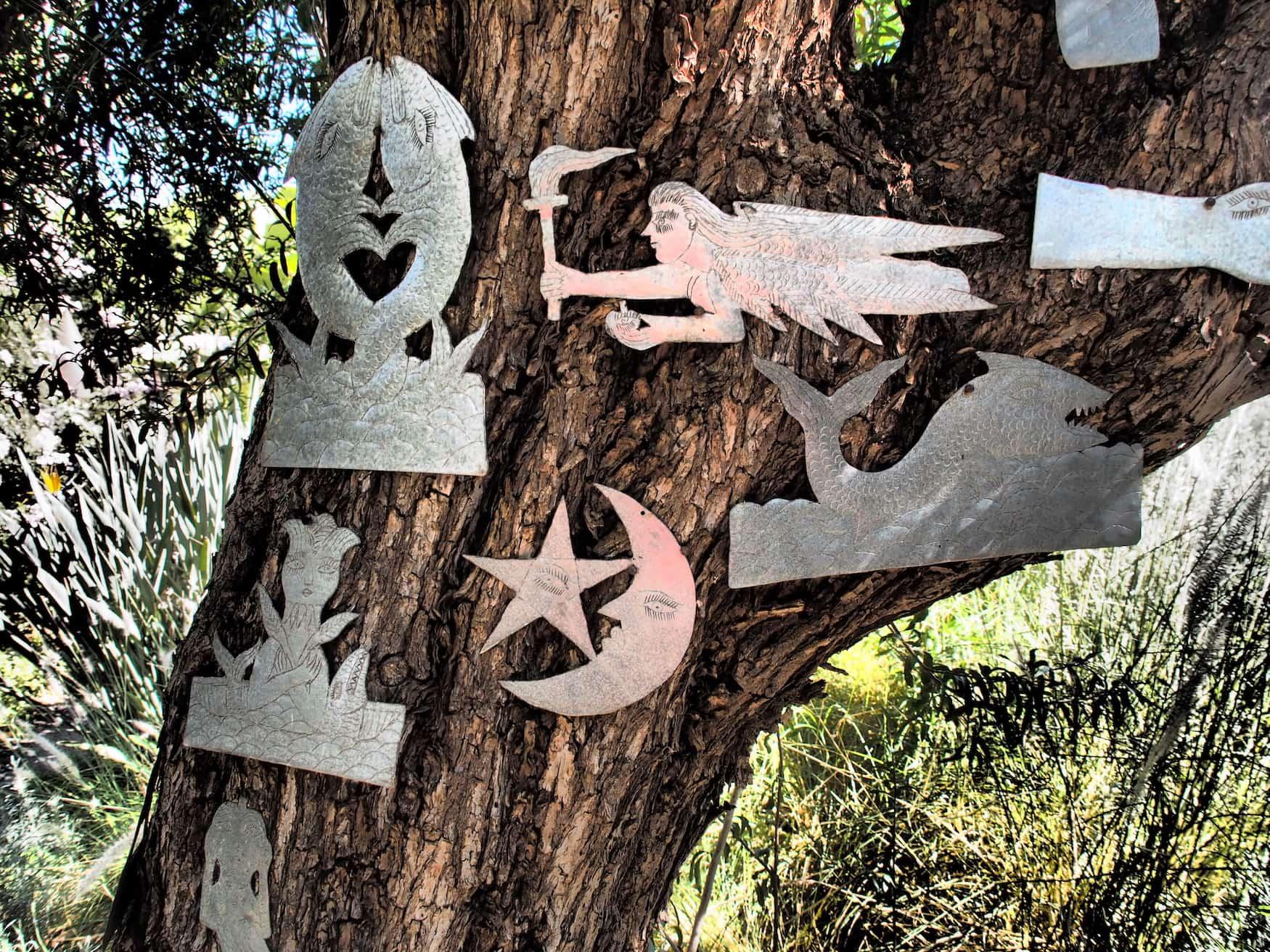 Installation in Andre Hellers garten Anima - Marrakesch - Kreative