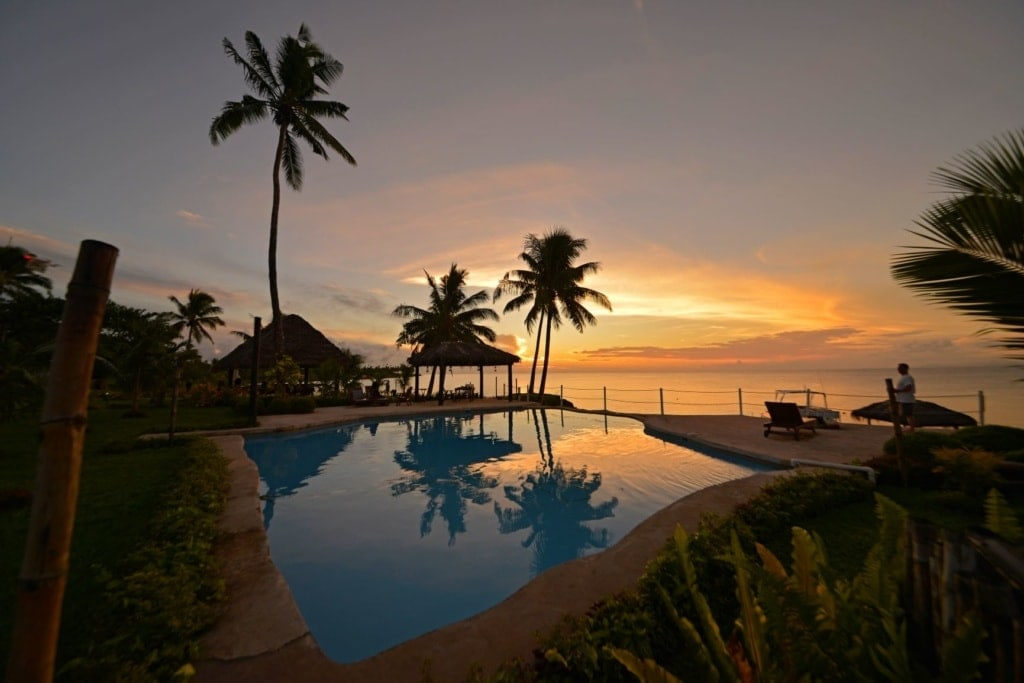 Swimmingpool im Paradise Taveuni Resort