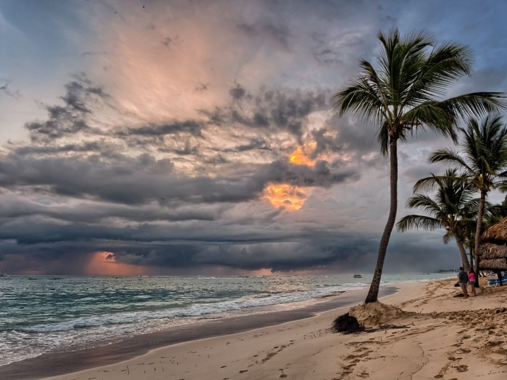 Strand an der Punta Cana