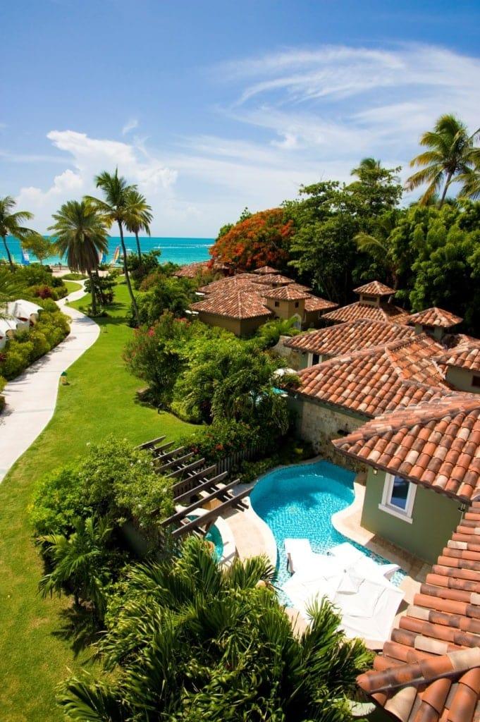 Bungalows im Sandals Resort auf Antigua