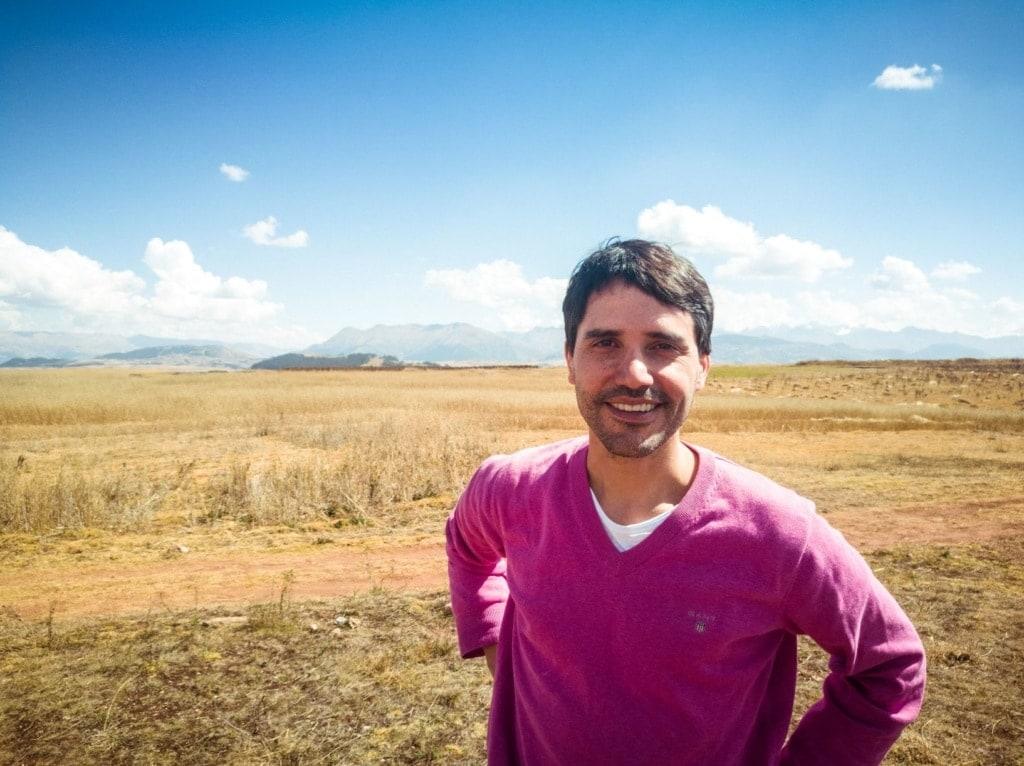 Santos, Guide im Heiligen Tal in Peru