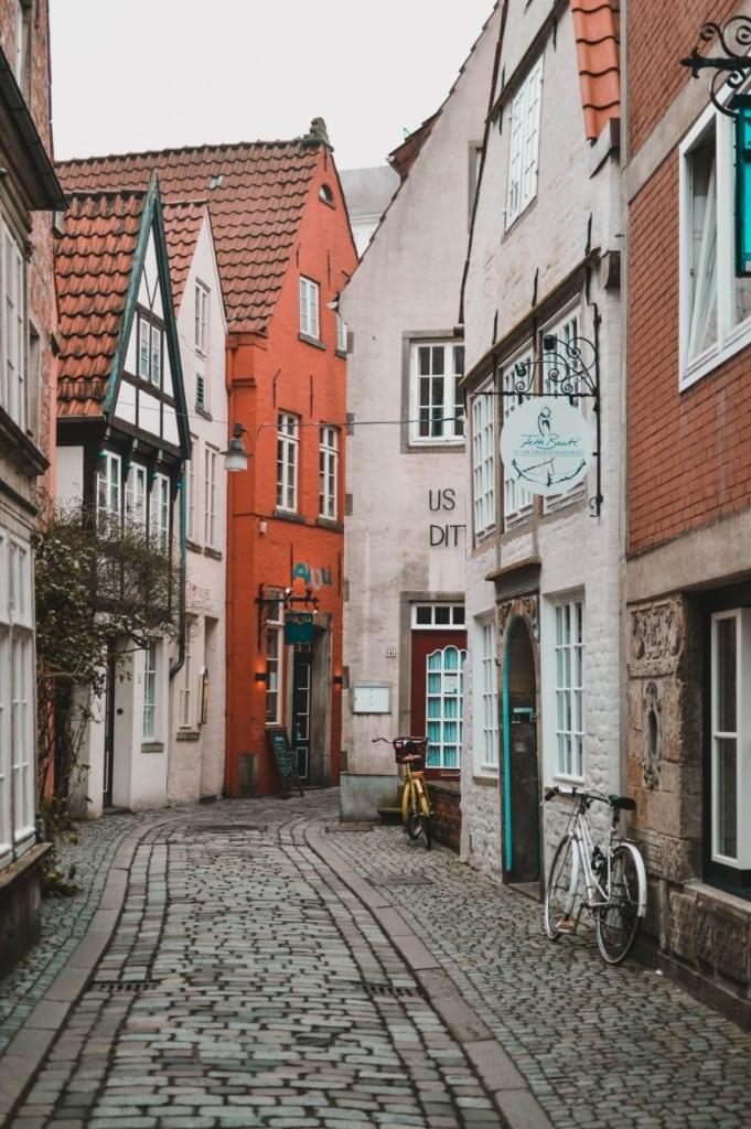 Schnoor-Viertel in Bremen