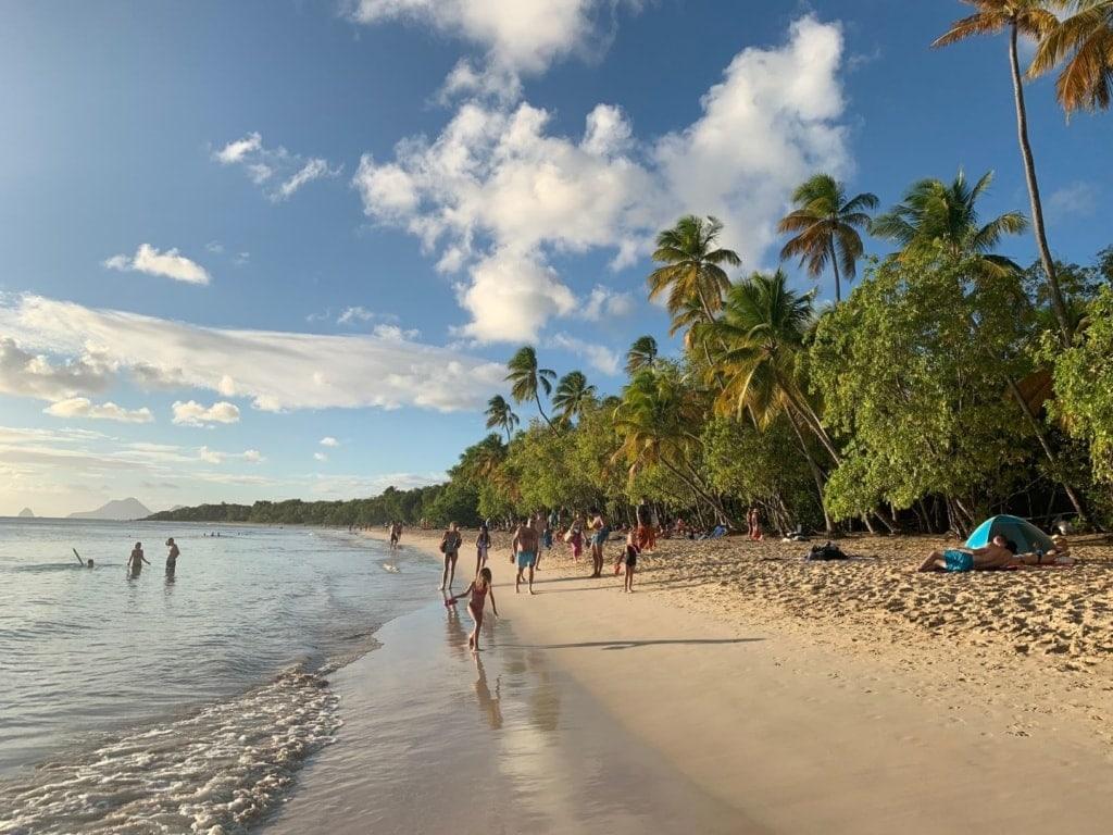 Sainte Anne Strand auf Martinique