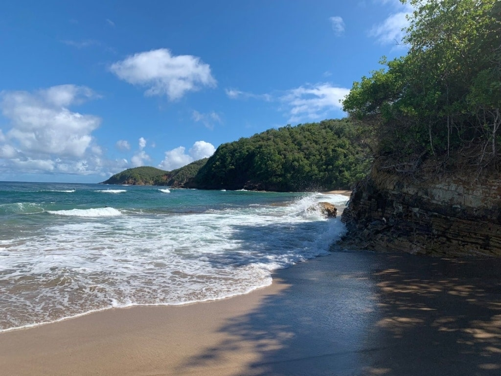 Le Tartane Strand auf Martinique