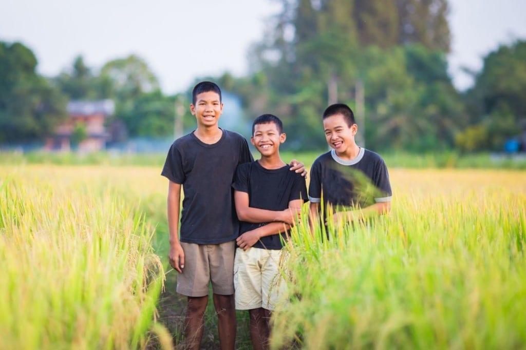Jungen in Vietnam