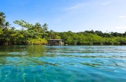 Bocas del Toro Inselgruppe in der Karibik, Panama