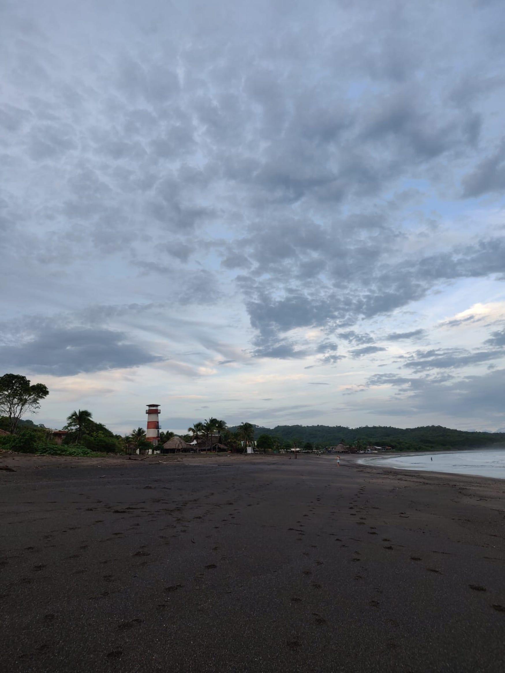 Rauer Strandabschnitt des Playa Venao in Panama